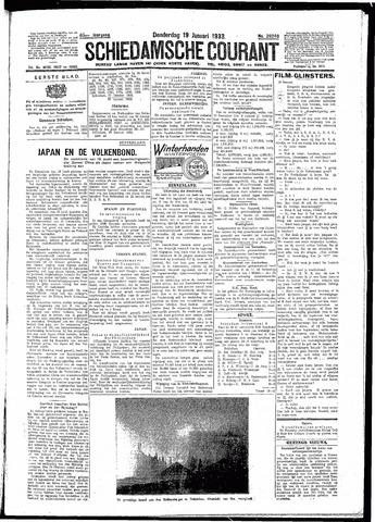 Schiedamsche Courant 1933-01-19