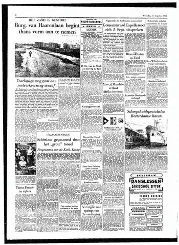 Rotterdamsch Parool / De Schiedammer 1955-08-31