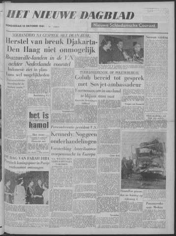 Nieuwe Schiedamsche Courant 1961-10-12