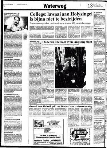 Rotterdamsch Nieuwsblad / Schiedamsche Courant / Rotterdams Dagblad / Waterweg / Algemeen Dagblad 1991-11-14