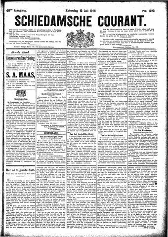 Schiedamsche Courant 1916-07-15