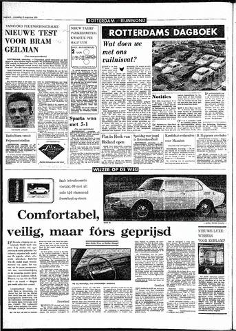 Rotterdamsch Parool / De Schiedammer 1970-08-12