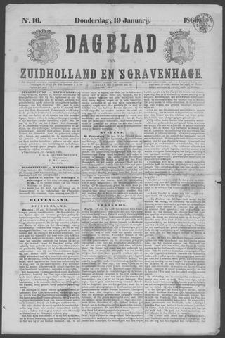 Dagblad van Zuid-Holland 1860-01-19