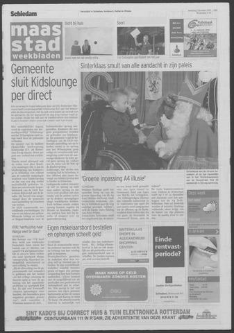 Maaspost / Maasstad / Maasstad Pers 2009-12-02