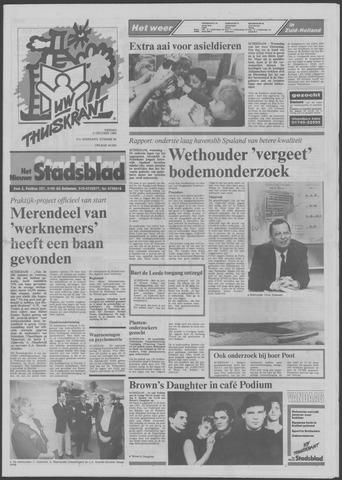 Het Nieuwe Stadsblad 1989-10-06