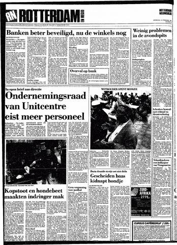Rotterdamsch Nieuwsblad / Schiedamsche Courant / Rotterdams Dagblad / Waterweg / Algemeen Dagblad 1991-02-16