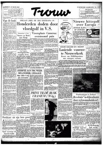 Trouw / De Rotterdammer 1957-06-29