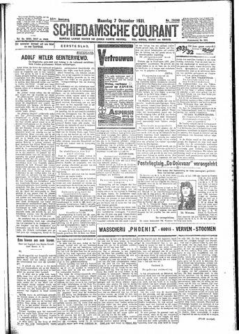 Schiedamsche Courant 1931-12-07