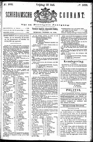 Schiedamsche Courant 1881-07-22