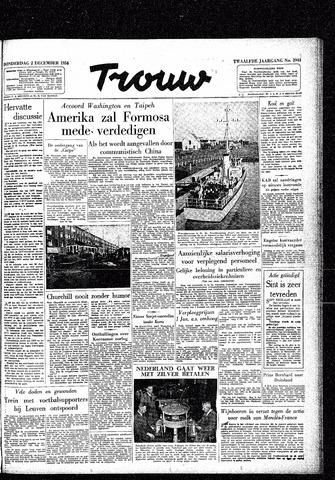 Trouw / De Rotterdammer 1954-12-02