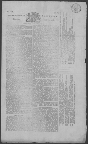 Rotterdamse Courant 1826-06-13