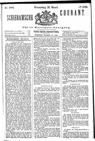 Schiedamsche Courant 1881-03-23