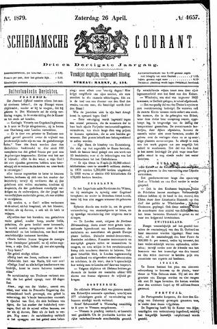 Schiedamsche Courant 1879-04-26