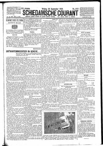 Schiedamsche Courant 1931-09-25