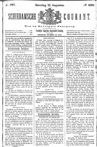 Schiedamsche Courant 1877-08-25