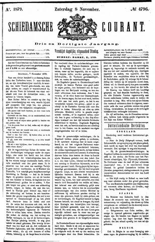 Schiedamsche Courant 1879-11-08