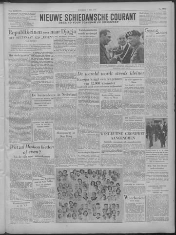 Nieuwe Schiedamsche Courant 1949-05-07