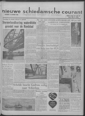 Nieuwe Schiedamsche Courant 1958-10-18