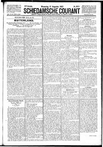 Schiedamsche Courant 1927-08-17