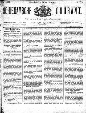 Schiedamsche Courant 1883-11-15