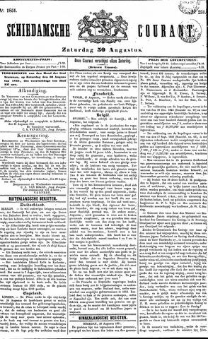 Schiedamsche Courant 1851-08-30