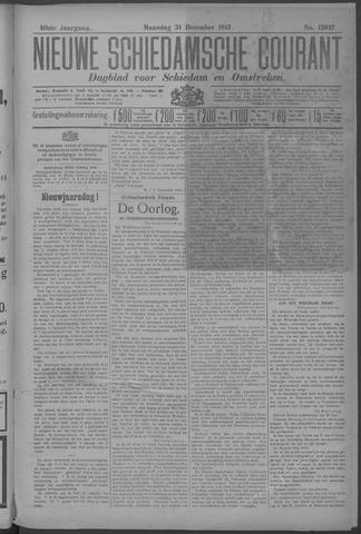 Nieuwe Schiedamsche Courant 1917-12-31