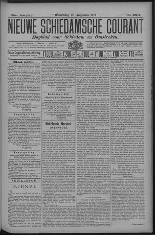 Nieuwe Schiedamsche Courant 1913-08-28