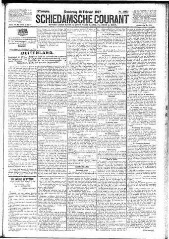 Schiedamsche Courant 1927-02-10