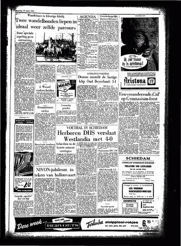 Rotterdamsch Parool / De Schiedammer 1961-03-13