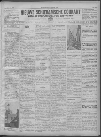 Nieuwe Schiedamsche Courant 1932-01-20