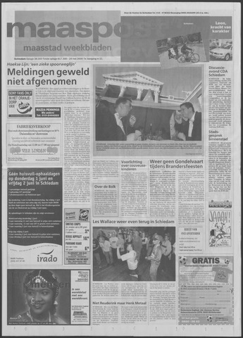 Maaspost / Maasstad / Maasstad Pers 2000-05-24
