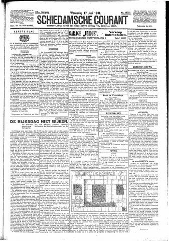 Schiedamsche Courant 1931-06-17