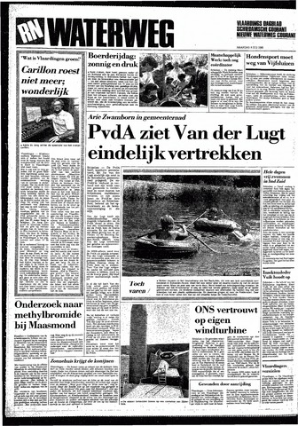 Rotterdamsch Nieuwsblad / Schiedamsche Courant / Rotterdams Dagblad / Waterweg / Algemeen Dagblad 1985-07-08