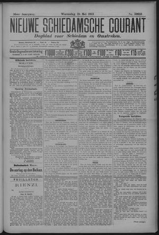 Nieuwe Schiedamsche Courant 1913-05-28