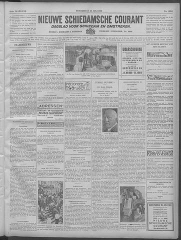 Nieuwe Schiedamsche Courant 1932-07-28