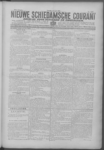 Nieuwe Schiedamsche Courant 1925-04-18