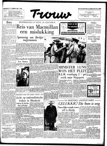Trouw / De Rotterdammer 1959-02-27