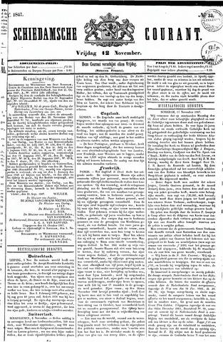 Schiedamsche Courant 1847-11-12