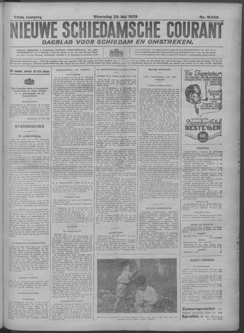 Nieuwe Schiedamsche Courant 1929-05-29