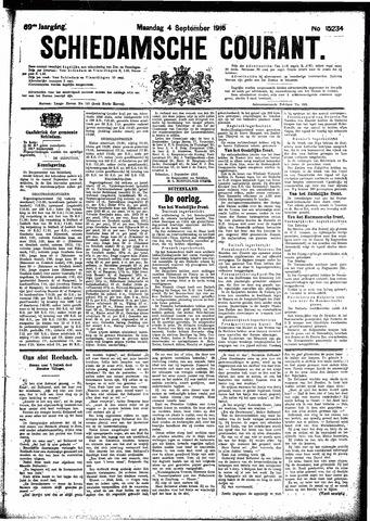 Schiedamsche Courant 1916-09-04