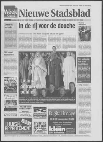 Het Nieuwe Stadsblad 2006-11-08