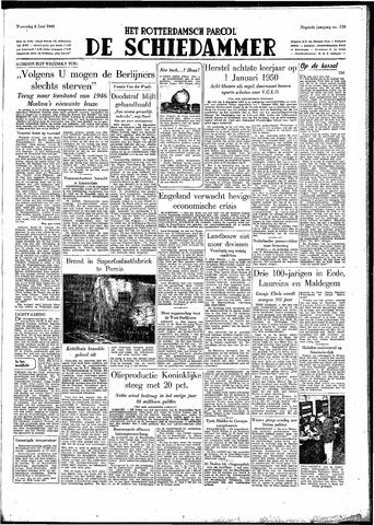 Rotterdamsch Parool / De Schiedammer 1949-06-08