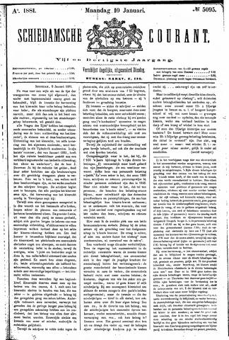 Schiedamsche Courant 1881-01-10