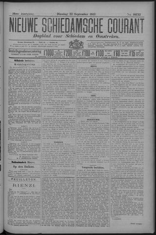 Nieuwe Schiedamsche Courant 1913-09-23