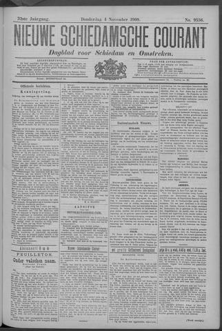 Nieuwe Schiedamsche Courant 1909-11-04