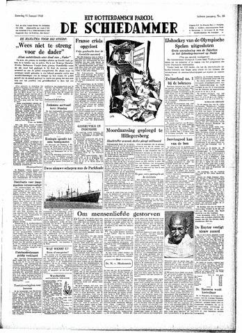 Rotterdamsch Parool / De Schiedammer 1948-01-31