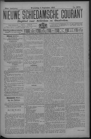 Nieuwe Schiedamsche Courant 1913-09-03