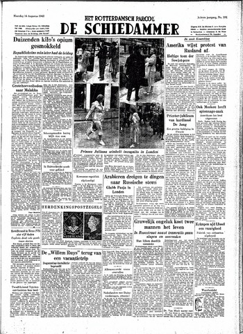 Rotterdamsch Parool / De Schiedammer 1948-08-16