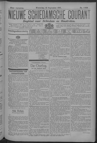 Nieuwe Schiedamsche Courant 1917-09-12