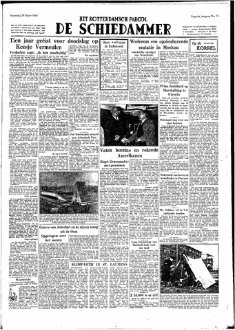 Rotterdamsch Parool / De Schiedammer 1949-03-30